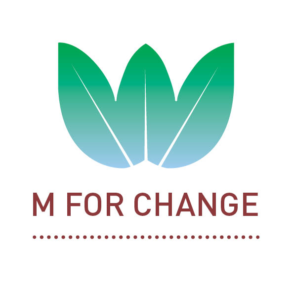M For change